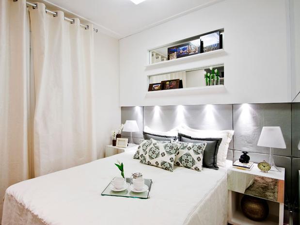Dicas e fotos de decora o de quartos de casal pequenos - Armarios para dormitorios pequenos ...