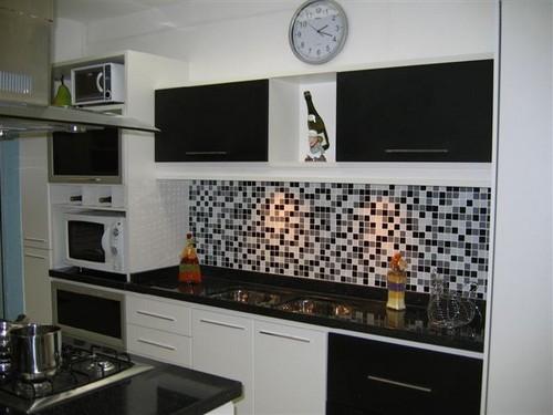 cozinhaa decorada com pastilhas