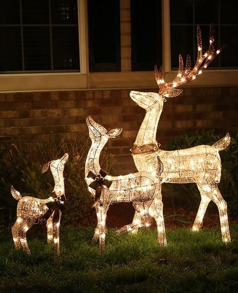 Ideias Para Decorar Seu Jardim Com Luzes De Natal