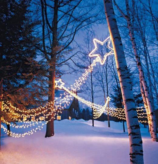 decorar-seu-jardim-com-luzes-de-natal-7