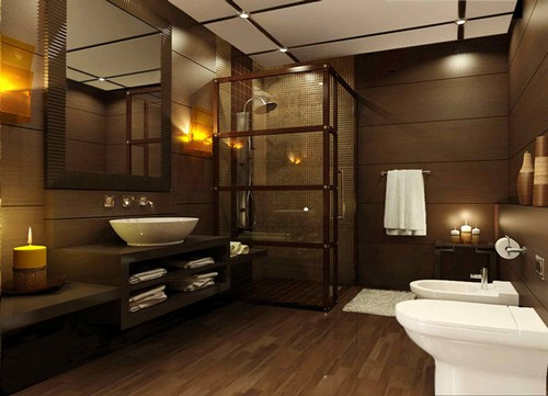 Banheiros de luxo decorados - Fotos de aticos decorados ...