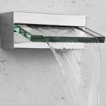 chuveiro moderno em cascata