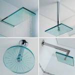 chuveiros modernos de vidro