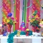 Decoração de Carnaval para festa infantil