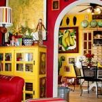 Decoração de casas mexicanas