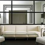 Decoração de salas com espelhos