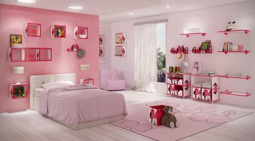 decoracao de interiores quartos femininos:Ideias para decoração de quarto feminino juvenil