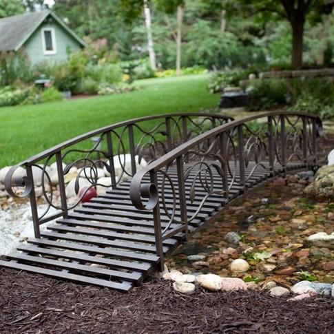 Jardins com pontes