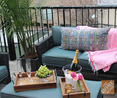 Decorando varandas pequenas for Balcony decorating ideas on a budget