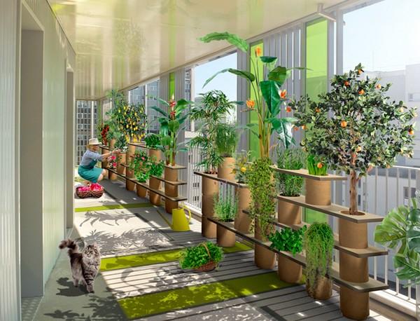Decora o de varandas de apartamentos 11 ideias fant sticas for Balcony garden ideas in dubai