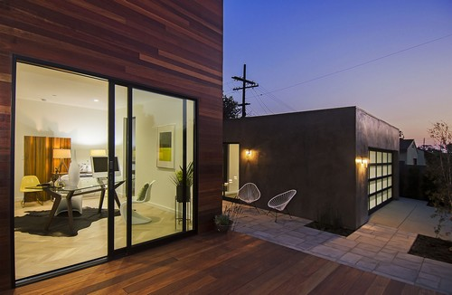 Entradas de casas minimalistas for Entradas para casas