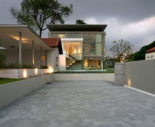 Entradas de casas minimalistas - Entradas casas modernas ...