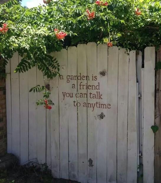 12 ideias de decoração DIY para a sua cerca de jardim