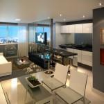 Salas comuns e modernas