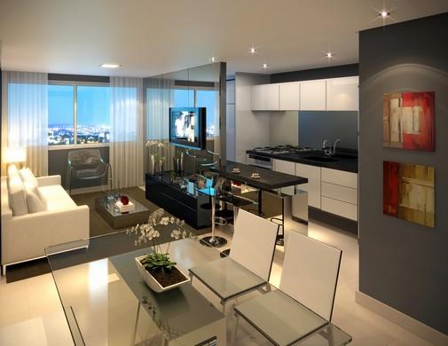 Salas comuns modernas for Salas pequenas e modernas