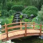Jardins e pontes
