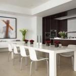 Mesas de jantar modernas