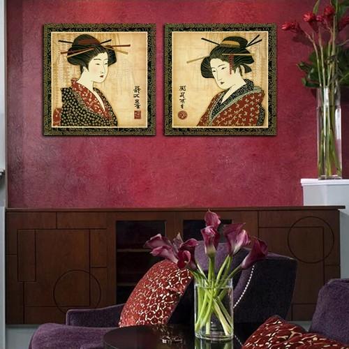 Quadros decorativos japoneses