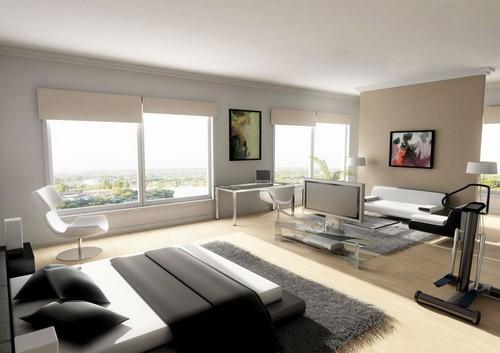 decorando quarto moderno