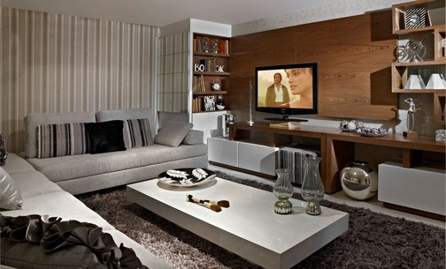 Ideias Para Sala De Estar Moderna ~ Ideias para decorar sala moderna