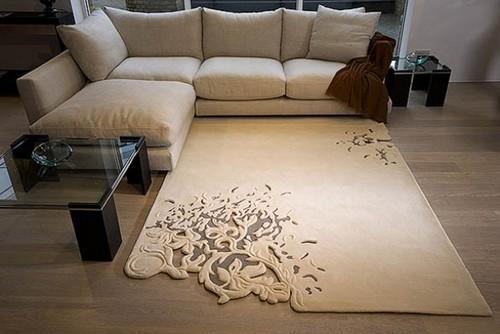 Tapetes decorativos para sala